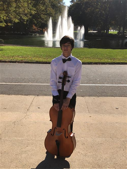 Congratulations to 8th grader Ethan Lee for being chosen to participate in the Region Honors Orchestra! Click to read more...