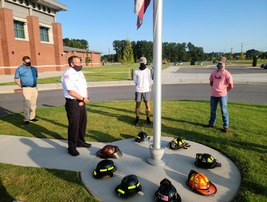 AIT's Fire and Rescue class remember 9-11