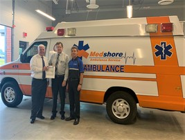 Medshore Donates Ambulance to AIT