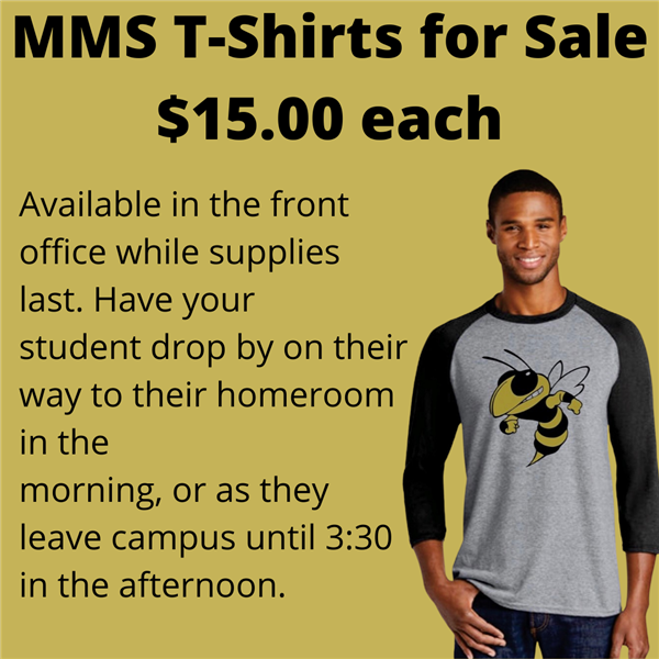 MMS T-Shirts for sale for $15.00 each