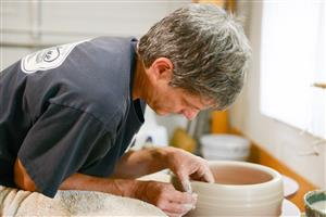 In addition to being a high school Art teacher, I have also been a working potter/ceramic artist for 31 years.