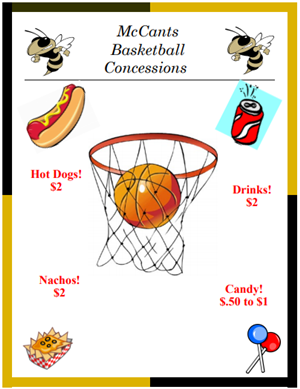 Basketball Concessions