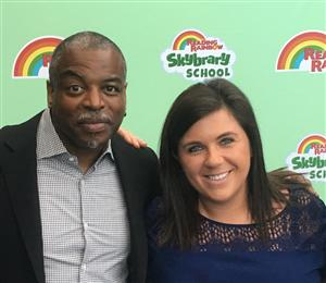 Miss Rinker and Her Best Friend, LaVar Burton