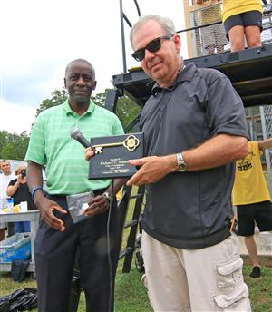 Bas gets key to city