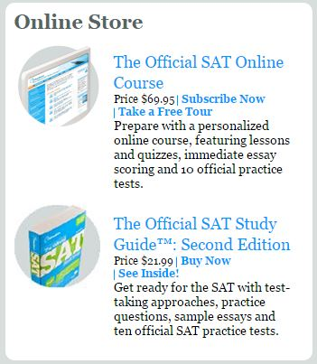 as old SAT questions  though the online format is less streamlined than  that of the College Board website or Khan Academy  You can see an example  below  abacusenterprises us